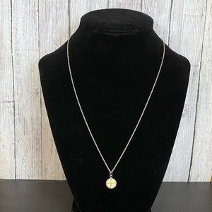 American Eagle 925 four leaf clover necklace